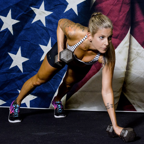 Rachael Caccamo in Fitness Coach at CrossFit Garage in Woodstock GA